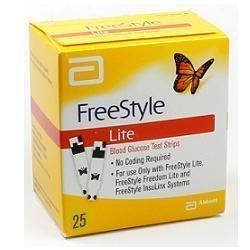 FREESTYLE LITE STR GLICEMIA 25 - DISPOSITIVO MEDICO