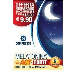 MELATONINA ACT+FT 5 COMP 90CPR
