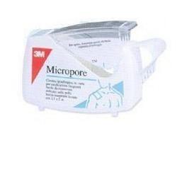 MICROPORE CER ROC 2,5X5M C/DISP - DISPOSITIVO MEDICO