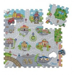 GIOCO 71630 TOY PUZZLE MAT CITY